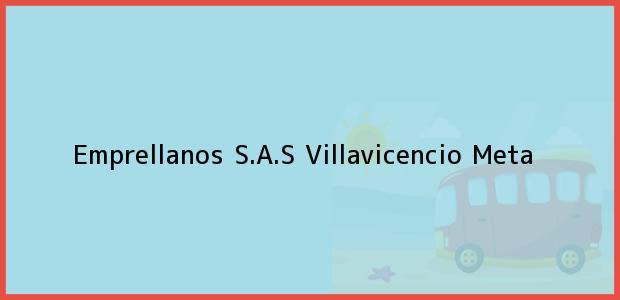 Teléfono, Dirección y otros datos de contacto para Emprellanos S.A.S, Villavicencio, Meta, Colombia