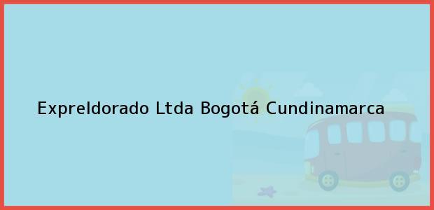 Teléfono, Dirección y otros datos de contacto para Expreldorado Ltda, Bogotá, Cundinamarca, Colombia