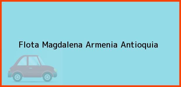 Teléfono, Dirección y otros datos de contacto para Flota Magdalena, Armenia, Antioquia, Colombia