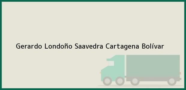 Teléfono, Dirección y otros datos de contacto para Gerardo Londoño Saavedra, Cartagena, Bolívar, Colombia