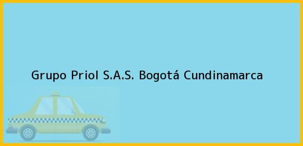 Teléfono, Dirección y otros datos de contacto para Grupo Priol S.A.S., Bogotá, Cundinamarca, Colombia