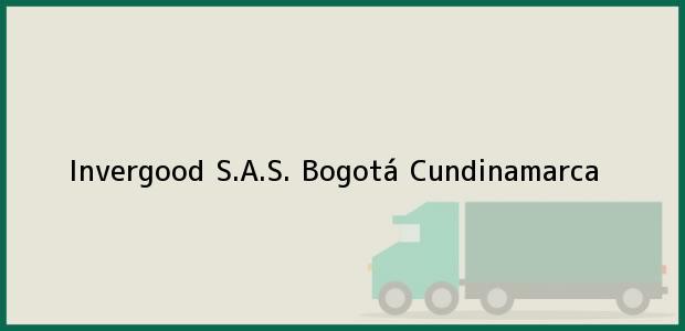 Teléfono, Dirección y otros datos de contacto para Invergood S.A.S., Bogotá, Cundinamarca, Colombia