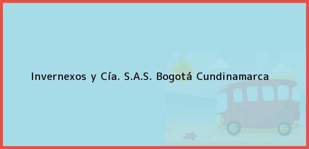 Teléfono, Dirección y otros datos de contacto para Invernexos y Cía. S.A.S., Bogotá, Cundinamarca, Colombia