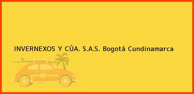 Teléfono, Dirección y otros datos de contacto para INVERNEXOS Y CÚA. S.A.S., Bogotá, Cundinamarca, Colombia