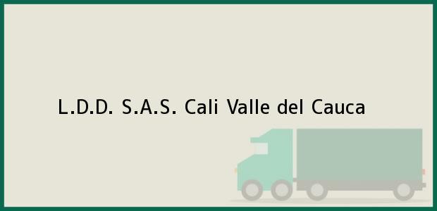 Teléfono, Dirección y otros datos de contacto para L.D.D. S.A.S., Cali, Valle del Cauca, Colombia