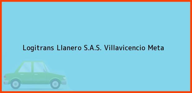 Teléfono, Dirección y otros datos de contacto para Logitrans Llanero S.A.S., Villavicencio, Meta, Colombia
