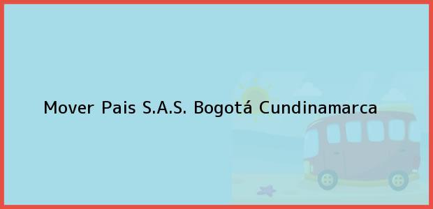 Teléfono, Dirección y otros datos de contacto para Mover Pais S.A.S., Bogotá, Cundinamarca, Colombia
