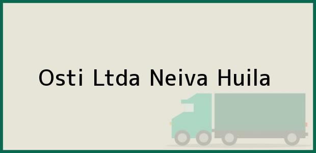 Teléfono, Dirección y otros datos de contacto para Osti Ltda, Neiva, Huila, Colombia