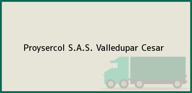Teléfono, Dirección y otros datos de contacto para Proysercol S.A.S., Valledupar, Cesar, Colombia