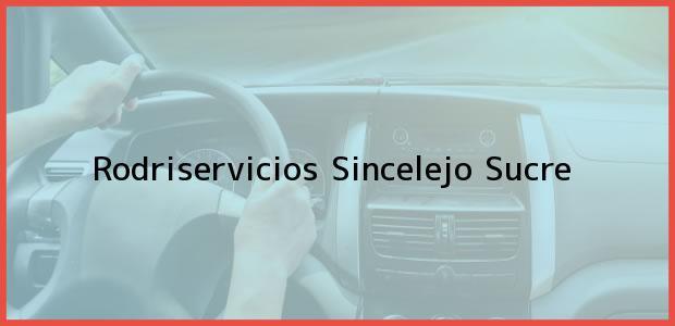 Teléfono, Dirección y otros datos de contacto para Rodriservicios, Sincelejo, Sucre, Colombia