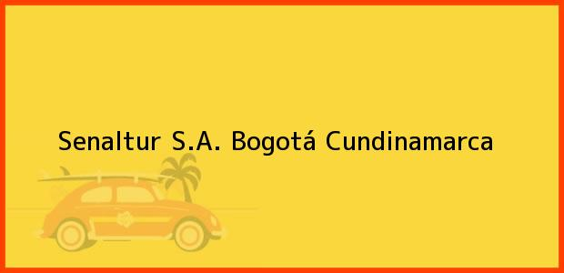 Teléfono, Dirección y otros datos de contacto para Senaltur S.A., Bogotá, Cundinamarca, Colombia