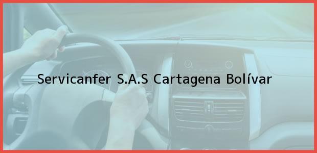 Teléfono, Dirección y otros datos de contacto para Servicanfer S.A.S, Cartagena, Bolívar, Colombia