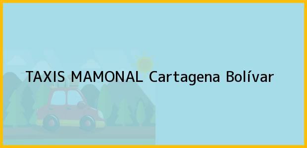 Teléfono, Dirección y otros datos de contacto para TAXIS MAMONAL, Cartagena, Bolívar, Colombia