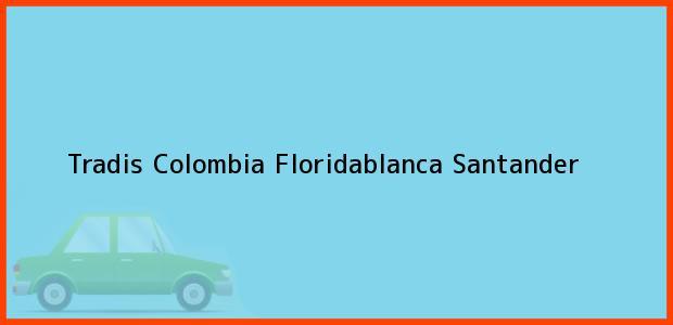 Teléfono, Dirección y otros datos de contacto para Tradis Colombia, Floridablanca, Santander, Colombia