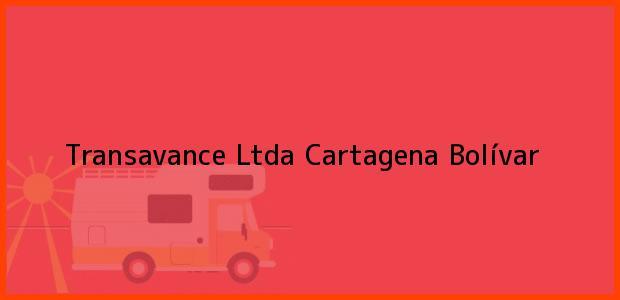 Teléfono, Dirección y otros datos de contacto para Transavance Ltda, Cartagena, Bolívar, Colombia