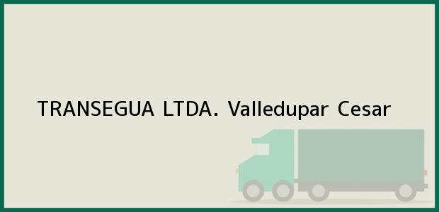 Teléfono, Dirección y otros datos de contacto para TRANSEGUA LTDA., Valledupar, Cesar, Colombia