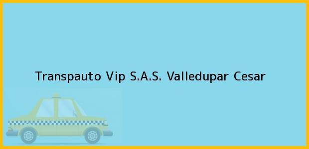 Teléfono, Dirección y otros datos de contacto para Transpauto Vip S.A.S., Valledupar, Cesar, Colombia