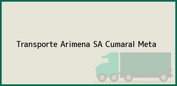 Teléfono, Dirección y otros datos de contacto para TRANSPORTE ARIMENA S.A., Cumaral, Meta, Colombia