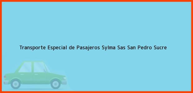 Teléfono, Dirección y otros datos de contacto para Transporte Especial de Pasajeros Sylma Sas, San Pedro, Sucre, Colombia