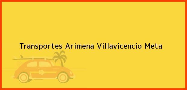 Teléfono, Dirección y otros datos de contacto para Transportes Arimena, Villavicencio, Meta, Colombia