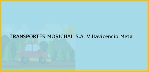 Teléfono, Dirección y otros datos de contacto para Transportes Morichal S.A., Villavicencio, Meta, Colombia