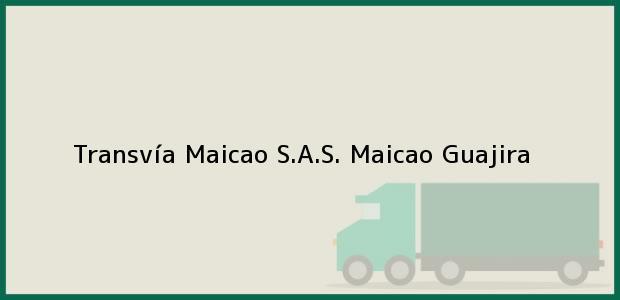 Teléfono, Dirección y otros datos de contacto para Transvía Maicao S.A.S., Maicao, Guajira, Colombia