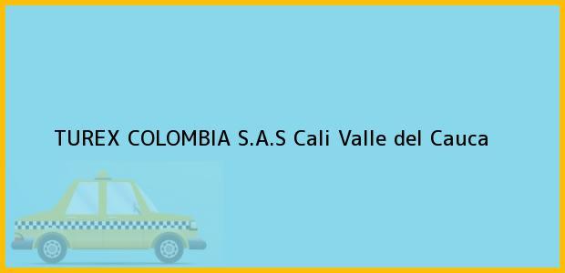Teléfono, Dirección y otros datos de contacto para TUREX COLOMBIA S.A.S, Cali, Valle del Cauca, Colombia