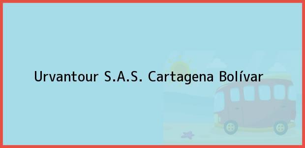 Teléfono, Dirección y otros datos de contacto para Urvantour S.A.S., Cartagena, Bolívar, Colombia