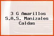3 G Amarillos S.A.S. Manizales Caldas