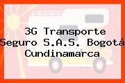 3G Transporte Seguro S.A.S. Bogotá Cundinamarca