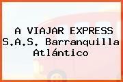 A VIAJAR EXPRESS S.A.S. Barranquilla Atlántico