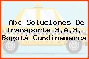 Abc Soluciones De Transporte S.A.S. Bogotá Cundinamarca