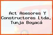 Act Asesores Y Constructores Ltda. Tunja Boyacá