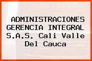 ADMINISTRACIONES GERENCIA INTEGRAL S.A.S. Cali Valle Del Cauca