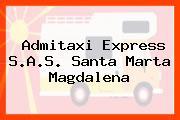 Admitaxi Express S.A.S. Santa Marta Magdalena