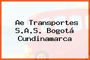 Ae Transportes S.A.S. Bogotá Cundinamarca