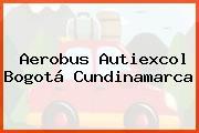 Aerobus Autiexcol Bogotá Cundinamarca