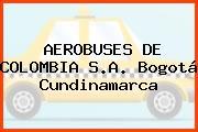 AEROBUSES DE COLOMBIA S.A. Bogotá Cundinamarca