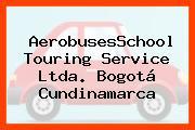 AerobusesSchool Touring Service Ltda. Bogotá Cundinamarca