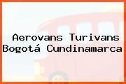 AEROVANS TURIVANS Bogotá Cundinamarca