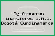 Ag Asesores Financieros S.A.S. Bogotá Cundinamarca