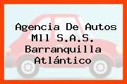 Agencia De Autos Mll S.A.S. Barranquilla Atlántico
