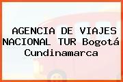 AGENCIA DE VIAJES NACIONAL TUR Bogotá Cundinamarca