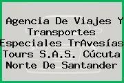 Agencia De Viajes Y Transportes Especiales TrAvesías Tours S.A.S. Cúcuta Norte De Santander
