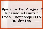 Agencia De Viajes Y Turismo Aliantur Ltda. Barranquilla Atlántico