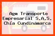 Agm Transporte Empresarial S.A.S. Chía Cundinamarca
