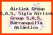 Airlink Group S.A.S. Sigla Airlink Group S.A.S. Barranquilla Atlántico