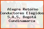 Alegre Retorno Conductores Elegidos S.A.S. Bogotá Cundinamarca
