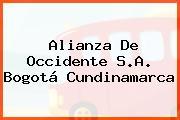 Alianza De Occidente S.A. Bogotá Cundinamarca
