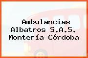 Ambulancias Albatros S.A.S. Montería Córdoba